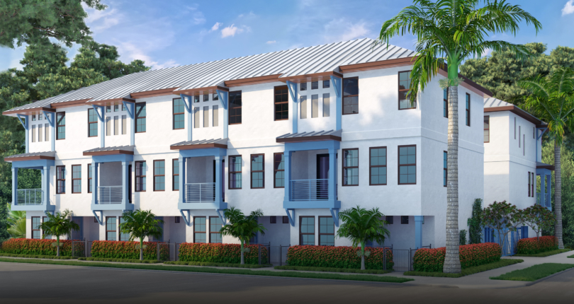 Saint James Townhomes Predicted to Make a Splash in St. Pete